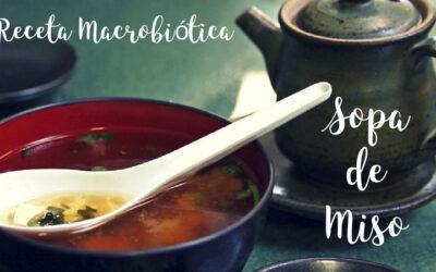 Receta Macrobiótica: Sopa de Miso