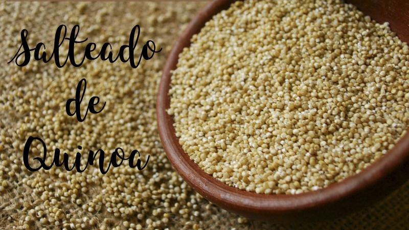 Receta macrobiótica: Salteado de Quinoa